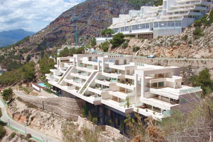 Apartamento de lujo en altea hills con maravillosas vistas al mar - Venta de apartamentos en altea ...