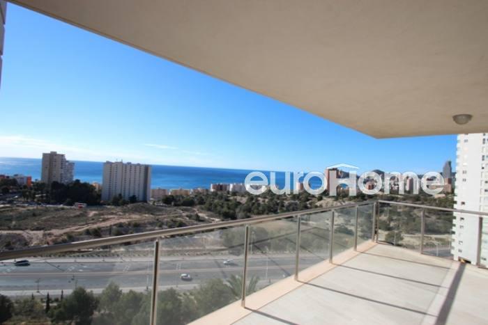 Apartamento en playa poniente de benidorm con vista al mar - Apartamentos en benidorm playa poniente ...
