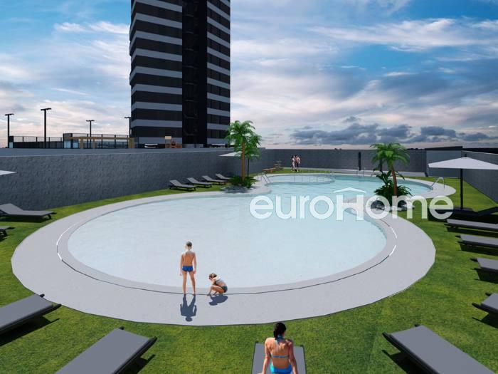 Eurohome inmobiliaria benitachell villa gadea alicante for Entrada piscina