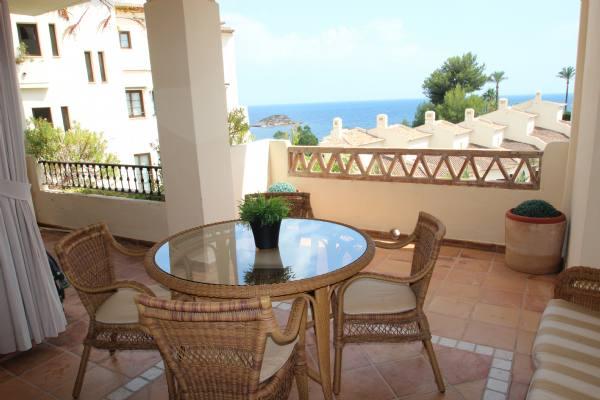 Location d´un appartement à altea, villa gadea, avec deux chambres
