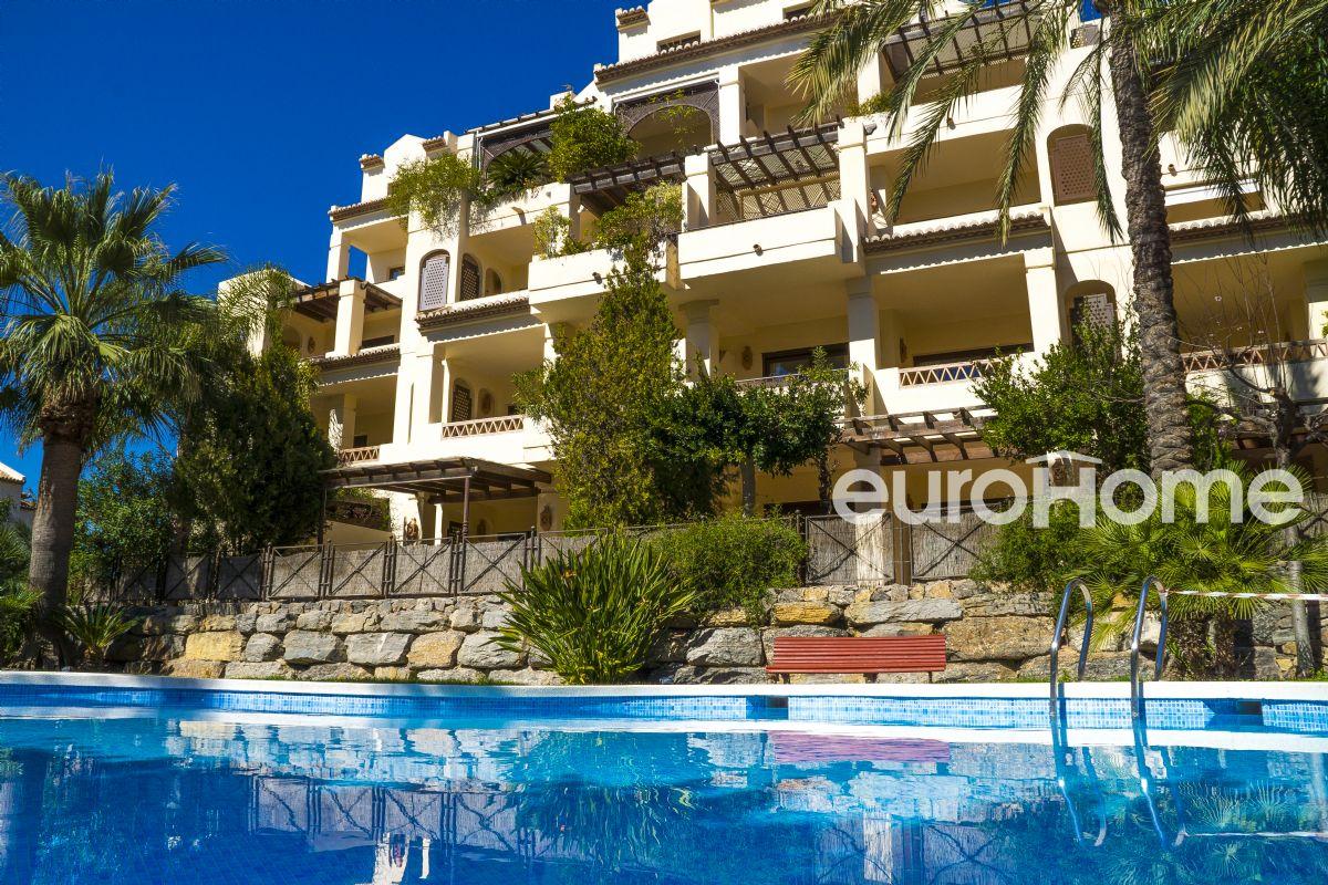 apartamento en residencial de lujo junto al mar villa gadea de altea