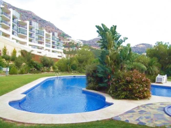 Appartement de deux chambres dans le complexe de luxe altea-hills à louer